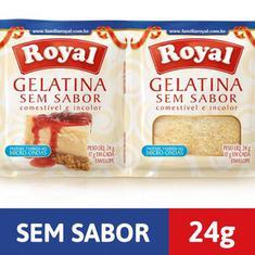 Gelatina em Pó sem Sabor Royal 24g