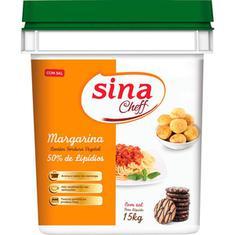 Margarina com Sal 50% Lipídios Sina 15kg