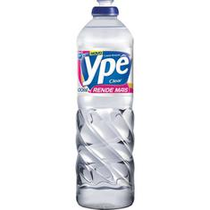 Detergente Líquido Clear Ypê 500ml Leve 24 Pague 22