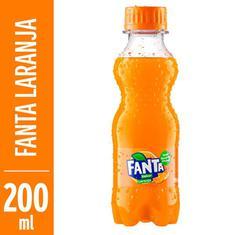Refrigerante de Laranja Fanta 200ml
