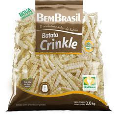 Batata Congelada Crinkle Bem Brasil 2Kg