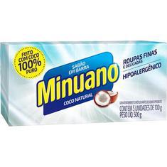 Sabão em Barra Coco Minuano 5X100g