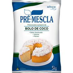 Mistura para Bolo sabor Coco Pré-Mescla Bunge 5kg