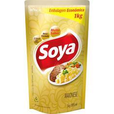 Maionese Soya Sachê 1Kg