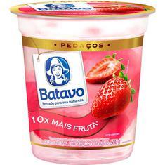 Iogurte Pedaços de Morango Batavo 500g