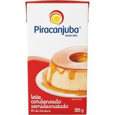 Leite Condensado Semidesnatado Piracanjuba 395g