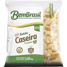Batata Congelada Caseira em Pedaços Bem Brasil 1,05Kg