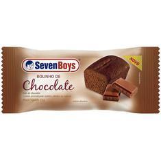 Bolinho Sabor Chocolate Seven Boys 35g