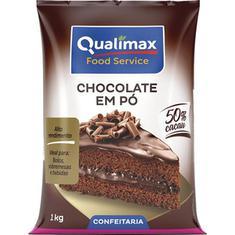 Chocolate em Pó 50% Cacau Qualimax 1kg