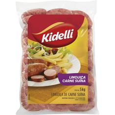 Linguiça de Carne Suína Kidelli 5kg
