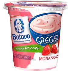 Iogurte Grego Morango Batavo 500g