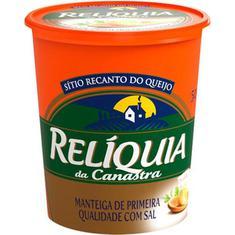Manteiga com Sal Relíquia da Canastra 500g