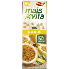 Bebida de Soja Mais Vita Sabor Maracujá Yoki 1L