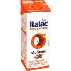 Achocolatado Zero Lactose Italac 1L