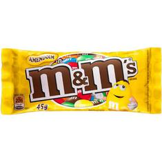 Chocolate M&M's Amendoim 45g