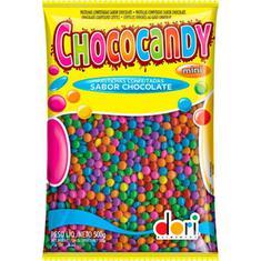 Confeito de Chocolate Colorido Chococandy Dori 500g