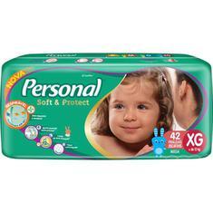 Fralda Soft & Protect Mega XG Personal 42un