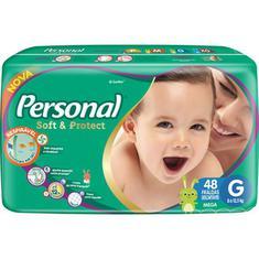 Fralda Soft & Protect Mega G Personal 48un