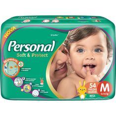 Fralda Soft & Protect Mega M Personal 54un