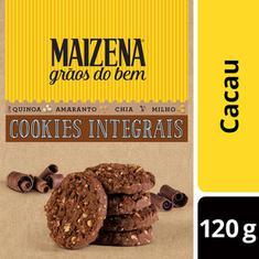 Cookies Integral Sabor Cacau Grãos do Bem Maizena 120g