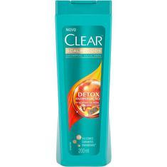Shampoo Anticaspa Detox Poluição Clear 200ml