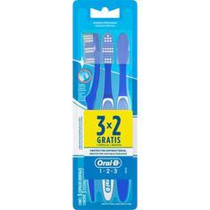 Escova Dental Oral B 123 Leve 3 Pague 2