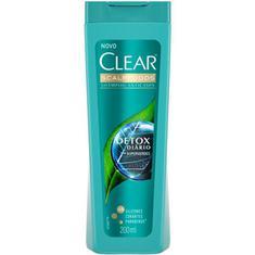 Shampoo Anticaspa Detox Diário Clear 200ml