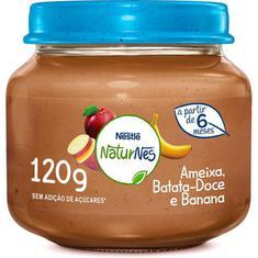 Papinha Sabor de Ameixa, Banana e Batata Doce Nestlé 120g