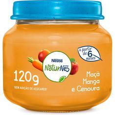 Papinha Sabor de Manga, Maçã e Cenoura Nestlé 120g