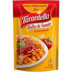 Molho de Tomate Tradicional Tarantella Sachê 2Kg