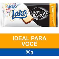 Chocolate Diamante Negro e Laka Lacta 90g