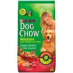 Ração para Cães Adultos Raças Médias e Grandes Dog Chow 1kg