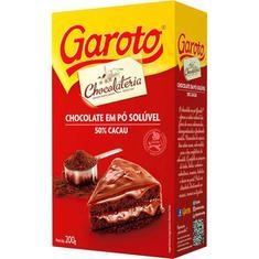 Chocolate em Pó Garoto 200g