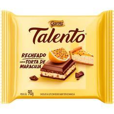 Chocolate Talento Recheado com Torta de Maracujá Garoto 90g