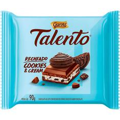 Chocolate Talento Recheado Cookies & Cream Garoto 90g