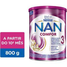 Fórmula Infantil Nan 3 Comfor Nestlé 800g
