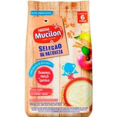 Mingau Infantil Banana Maça e Quinoa Mucilon 180g