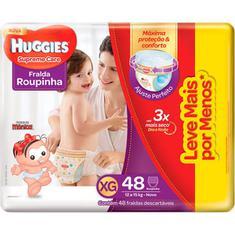Fralda Roupinha Supreme Care Hiper XG 48un Huggies