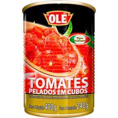 Tomate Pelado em Cubos Olé 240g