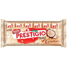 Chocolate Prestígio Branco Nestlé 114g