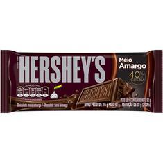 Chocolate Meio Amargo Hershey's 92g