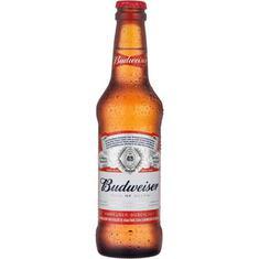 Cerveja Premium Long Neck Budweiser 330ml
