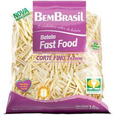 Batata Congelado Cortes Finos Bem Brasil 2kg