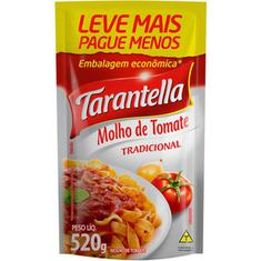 Molho de Tomate Tradicional Tarantella 520g
