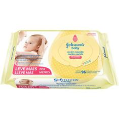 Lenço Umedecido Recém-Nascido Johnson's Baby 96un