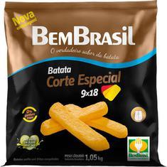 Batata Congelada Corte Especial 9X18 Bem Brasil 1,05kg