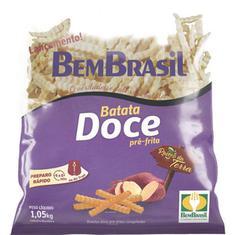 Batata Congelada Doce Bem Brasil 1,05kg