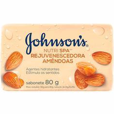 Sabonete em Barra Amêndoas Johnsons 80g