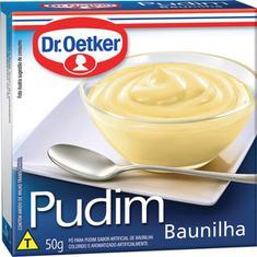 Pudim em Pó sabor Baunilha Dr. Oetker 50g