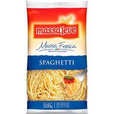 Massa Fresca Spaghetti Massa Leve 500g